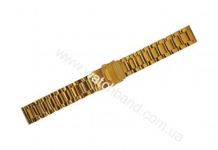 Часовой браслет из металлаСb18g-10