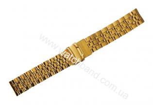 Часовой браслет из металлаСb20g-12
