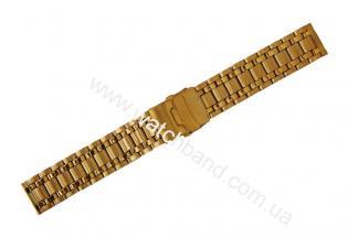 Часовой браслет из металлаСb20g-13