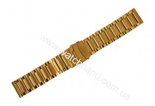 Часовой браслет из металлаСb22g-14