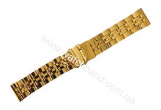 Часовой браслет из металлаСb22g-15