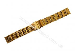 Часовой браслет из металлаСb20g-16