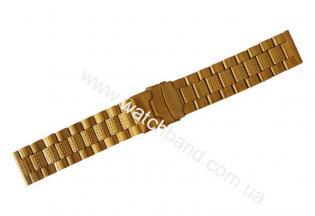 Часовой браслет из металлаСb22g-17