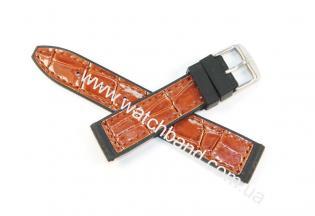 Ремень с вставками из кожи 20 ммBD0133-20-5
