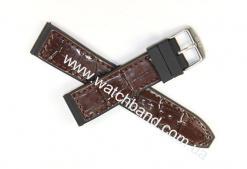 Ремень с вставками из кожи 22 мм BD0133-22-3