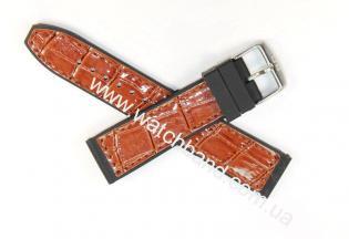 Ремень с вставками из кожи 22 ммBD0133-22-5