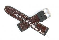 Ремень с вставками из кожи 24 мм BD0133-24-3
