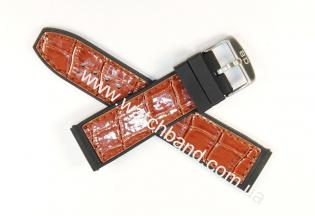 Ремень с вставками из кожи 24 ммBD0133-24-5