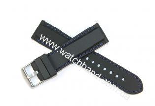 силиконовый ремешок с быстросъемными ушкми 22ммBD0119-22B