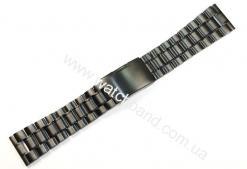 Черный браслет 22 мм D22B-23