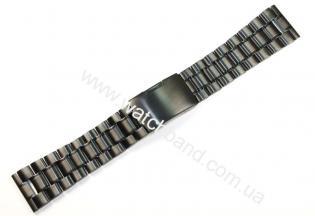 Черный браслет 24 ммD24B-24