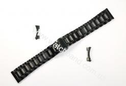 Браслет для часов 18 мм (black) BUT18B-03
