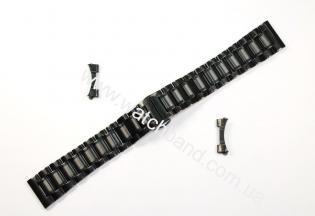 Браслет для часов 18 мм (black)BUT18B-03
