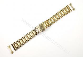 Браслет для часов 20 мм (gold)BUT20G-06