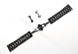 Браслет для часов 20 мм (black)BUT20B-07