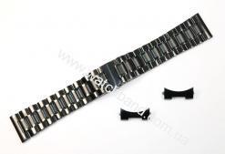 Браслет для часов 22 мм (black) BUT22B-11