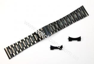 Браслет для часов 22 мм (black)BUT22B-11
