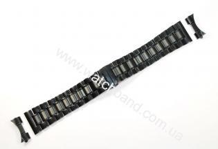 Браслет для часов 24 мм (black)BUT24B-15