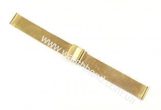 Браслет-сетка для часов 16 ммM16g-34