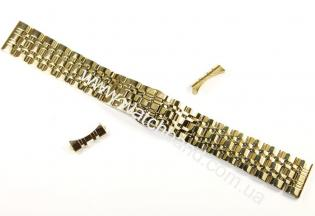 Браслет для часов 18 мм (gold)BUT18G-18